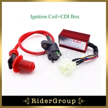 Performance Racing Ignition Coil 6 Pins Wires AC CDI Box For GY6 50cc 125cc 150cc Engine ATV Quad Go Kart Moped Scooter Chinese