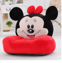 54x45cm red minnie plush toy soft tatami sofa floor seat cushion ,Christmas gift t8976