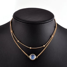 Fashion Rhinestone Gold Chain Chokers On The Neck For Girls Long Multi Layered Necklace With Crystals Pendants Chockers Women