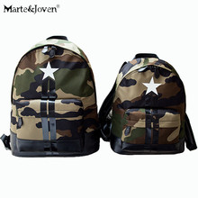 Hot Selling Unique Camouflage Backpacks Fashion Brand Design Star Pattern Schoolbags for Teenagers Best Backpack  For Traveling