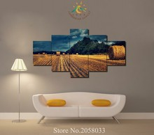 3-4-5 Pieces Harvest Season Modern Wall Art Pictures HD Printed Canvas Painting Modular Pictures HD Paints Home Decoration(China)
