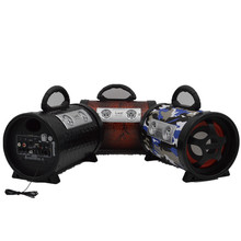 Car wireless bluetooth music portable loud speaker active audio sound system