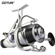 Goture Fishing Reel Double Brake Carp Fishing Feeder 11BB Spinning Reel 5.2:1 Quality Fishing Reel 5000 6000