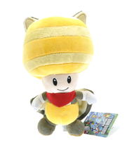 5pcs/lot 20cm Yellow Super Mario Plush Series Flying Squirrel Toad Plush Toys Soft Stuffed Toys Plush Doll for Kids Xmas Gift
