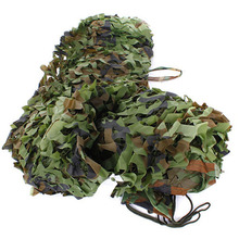Hot 4 x 1.5m Camouflage Shooting Hide Army Net Hunting Oxford Fabric Camo Netting