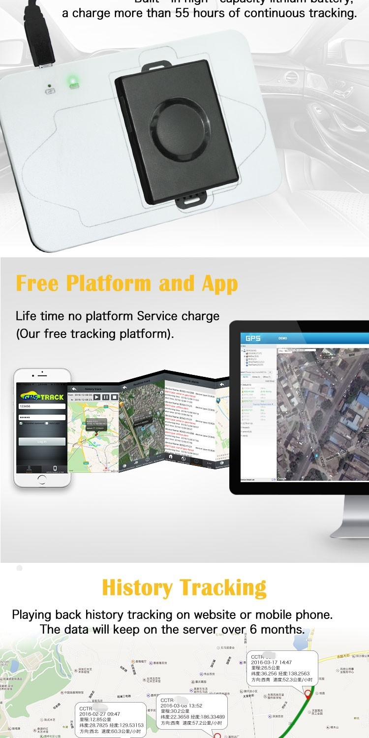 free app tracking gps device