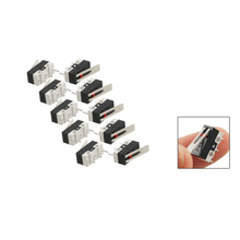 WSFS Hot Sale 10 pcs AC 125V 1A SPDT 1NO 1NC Long Hinge Lever Micro Switch