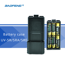 Baofeng UV-5R Battery Case 6 x AA Battery Power Supply Case for Baofeng UV-5R UV-5RA UV-5RE Walkie Talkie Accessories