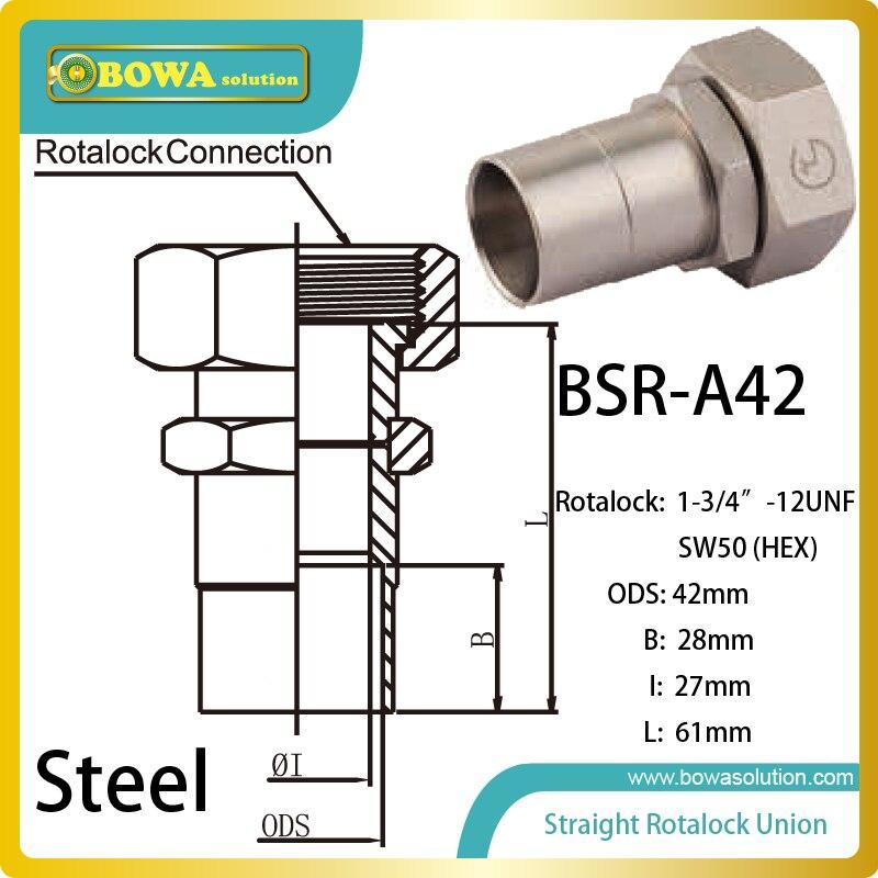 42mm ODS straight SW50 hex rotalock valve installed in heat pump air conditioner<br><br>Aliexpress