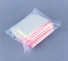 2IMC hot 100Pcs Ziplock Lock Zipped Poly Clear Bags Plastic Zip 6*9CM