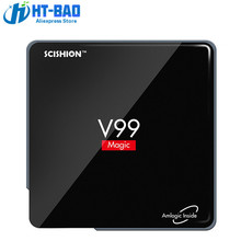 SCISHION V99 Magic TV Box Smart Android 6.0 TV Box Amlogic S912 Octa Core 2GB DDR2  16GB Dual Band WiFi Bluetooth 4.0 3D Player