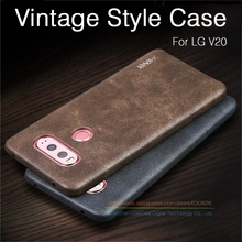 "Ultra Thin Vintage Leather Case For LG V20 Case F800 H990ds F800L 5.7"" Luxury Mobile Phone Soft Back Cover Cases For LG V20(China)"