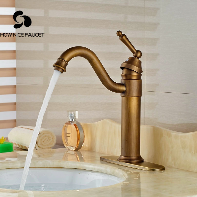 Antique bathroom sink faucets