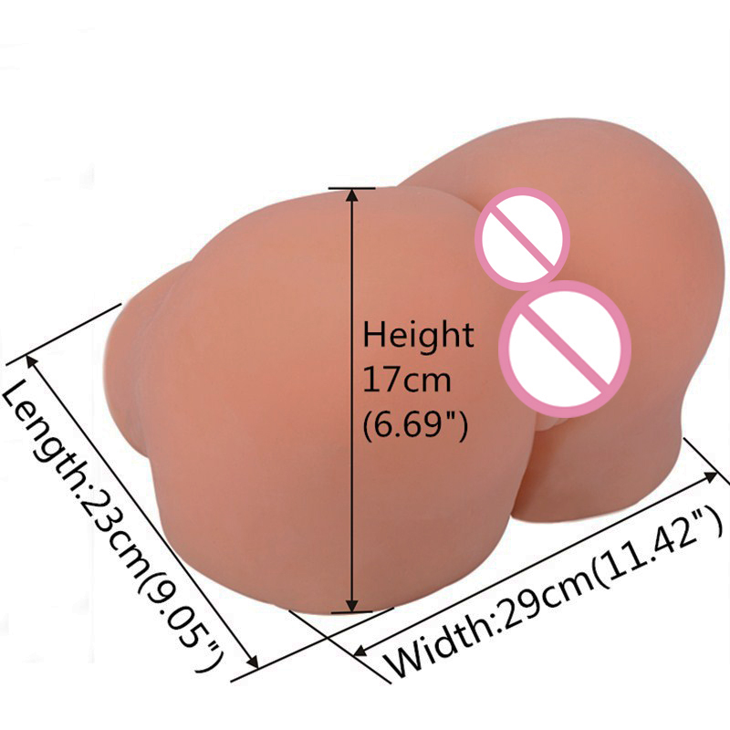 Silicone Big Ass Masturbator For Man Vagina Real Pussy ass sex toy hot anus Male adult robot dolls TPE Anal Sex Doll Realistic 12