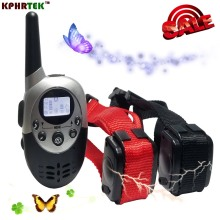 Dog Training Collar 1000M Waterproof Rechargeable LCD Remote Control Electronic Electric Vibration Shock Beeper Collar M613 M623