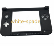 5SETS For Nintendo 3DS XL LL Replacement Hinge Part Black Matte Bottom Middle Shell / Housing