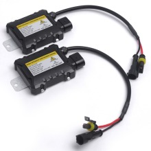2pcs 12V hid xenon ballast 55W Digital slim hid ballast 55w block ignition electronic ballast for HID kit xenon H7 H4 H1 H3 H11(China)