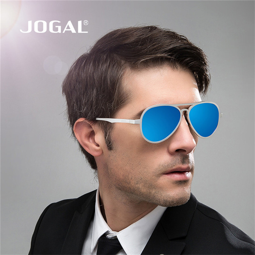 Delicate JOGAL Mens Polarized Aviator resin Sunglasses Outdoor Driving Glasses Eyewear Lens gafas de sol de resina Nov8<br><br>Aliexpress