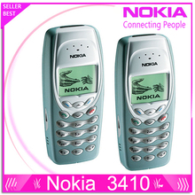 Refurbished NOKIA 3410 Mobile Cell Phone Original Unlocked Refurbished Cheap Phone(China)