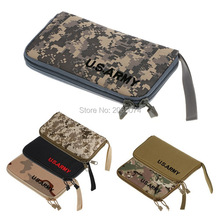 U.S. Army Men Outdoor Sports Clutch Bag Army Fans Tactical Anti-Collision Small Anti-Theft Wallets 2pcs Free china post(China)