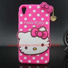 For HTC Desire 820 Cute Hello Kitty Silicone Mobile Phone For HTC Desire 820 Case Cover SKin