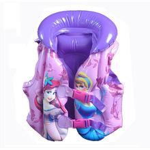 2-5Ys Girl Swim Vest Child Life Vest for Fishing Baby Floating Vest Jacket Inflatable Flamingo Donut Swan Swimming Ring Circle