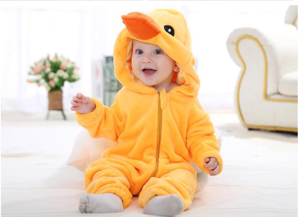 MICHLEY Baby Unisex Flanell Babykleidung m/ädchen und Junge Pyjama kost/üm Bekleidung f/ür Kinder von 0-24 Monaten