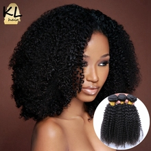 7A Grade Brazilian Kinky Curly Virgin Hair Weave Bundles Natural Color 100% Human Hair Brazilian Afro Kinky Curly Hair 3 Pcs/Lot