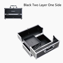 Travel Makeup Train Case Jewelry Box Cosmetic Organizer Storage Handbag(China)
