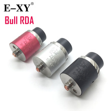 E-XY Bull RDA 24mm Copy Rebuildable Dripping Vape Vapor Vaporizer Electronic Cigarette Atomizer Stainless Steel Aluminum(China)