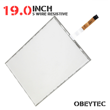 19 Inch 4:3 5 Wire Resistive Touch Screen Panel Kit with EETI USB Controller Active Area 375*300mm(China)
