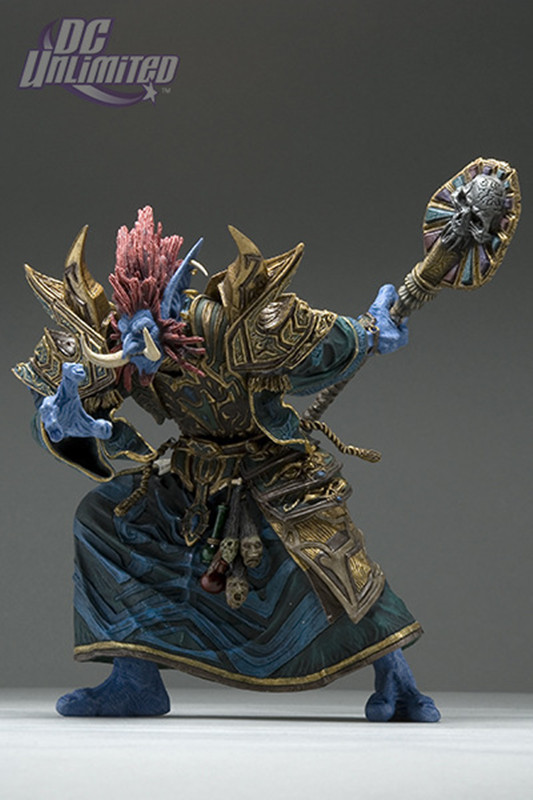 16cm WOW Troll Priest: Zabra Hexx Action Figure Free shipping GS011<br>
