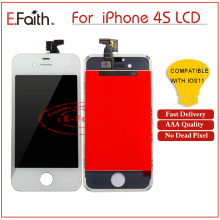 20 PCS/LOT AAA High Quality No Dead Pixel Display For iPhone 4 4G 4S LCD Touch Screen Digitizer With Free DHL(China)