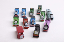 wholesale 12piece/Lot Mixed Free shipping Thomas Small Trains  Friends Children Earlier Educational plastic Toys
