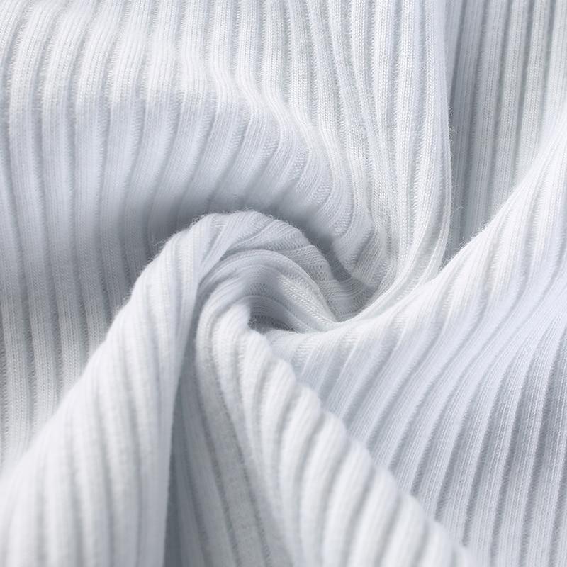 17Sweetown Black Short Sleeve Solid Bodysuit Women Casual Slim Bodycon Jumpsuits Summer 2018 Combinaison Femme White Body Top
