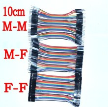 Dupont line 120pcs 10cm male to male + male to female and female to female jumper wire Dupont cable