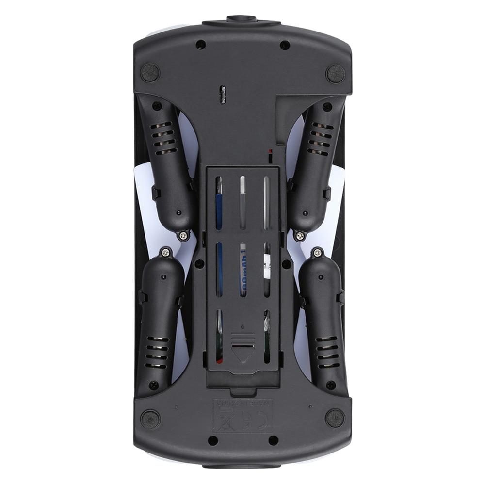 JJRC H37 ELFIE Foldable Pocket Selfie Drone WiFi FPV Phone Control Quadcopter Altitude Hold G-Sensor Mode 720P HD Selfie Drone 12