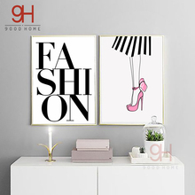 900D Posters And Prints Wall Art Canvas Painting Wall Pictures Nordic Fashion Lip Picture Decoration NOR009