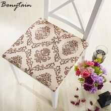 40cm Flower Printed Washable Non Slip Short Plush Seat Mat Chair Cushion Home Decor Home Office Student Tatami Pillows For Chair