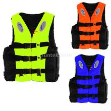 Adult Kids Life Jacket Buoy Bouyancy Safety Survival Suit Fishing Swiming Vest