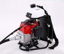 1750w Rice harvester gasoline backpack type mower cutting machine save fuel grass Trimmer