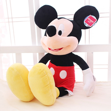 Micky mouse toy 12''/15'' Genuine Mickey doll pillow Mickey Mouse doll plush toys Minnie doll baby toys 1 pcs