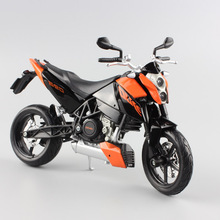 1:12 Maisto Scale KTM 690 Duke diecast motorbike racing cars moto miniature Supermoto bike motorcycle models gifts for kids toys(China)