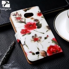 TAOYUNXI Painted Leather Cases For Samsung Galaxy Note II N7000 I9220 NOTE 1 2 NOTE1 Note2 7100 NoteII N7100 Flip Covers Bag(China)