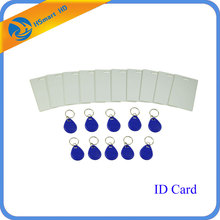 Access Control System 20 pcs Total MIX AND MATCH RF ID Cards + Key Chain Fobs RF IDs(China)