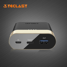 Teclast 10000 mAh Quick Charge Power Bank Battery Compatible with QC3.0 Support Type-c and Micro Fast Charger Poverbank T100CK-G