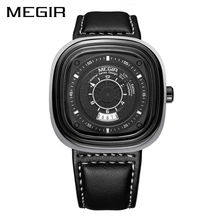 MEGIR Original Sport Watch Top Brand Men Watches Quartz Wrist Watch Fashion Clock Men Military Army Watch Saat Erkekler