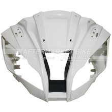 100% Virgin ABS Plastic Front Fairing Head For KAWASAKI ZX10R ZX-10R 2011 2012 Upper Fairing Nose Cowling NEW