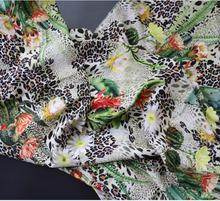 Silk cactus D+ exclusive international fashion apparel fabrics Large goods can be customized wholesale prices