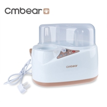 Cmbear Multifunction Bottle Warmer Baby Milk Heating Smart Milk Bottle Sterilizer Thermostat Disinfection Food Egg Steam Heating